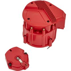 HEI Distributor w/Super Cap, SBC Small Block Chevy, Red