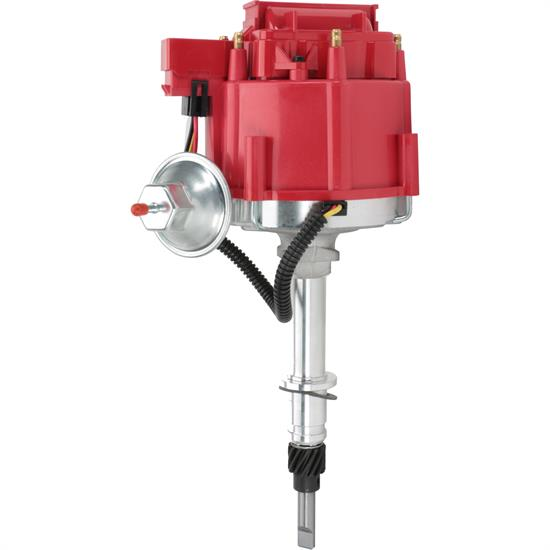 Speedway Motors HEI Distributor, AMC/Jeep 232-258, Red