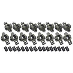 Crower Stainless Roller Rocker Arms, Small Block Chevy, 1.6:1
