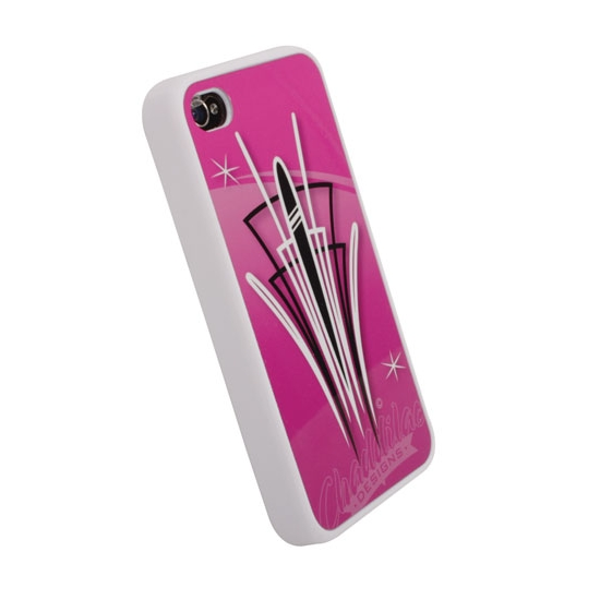 Garage Sale - Pinstriped iPhone Cover - Pink