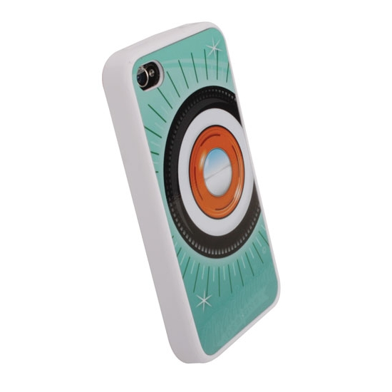 Garage Sale - Steelie & Whitewall iPhone Cover - Aqua