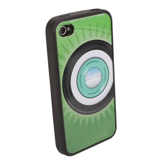 Garage Sale - Steelie & Whitewall iPhone Cover - Green