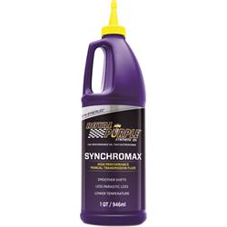 Royal Purple Synchromax Manual Transmission Fluid, 1 Quart