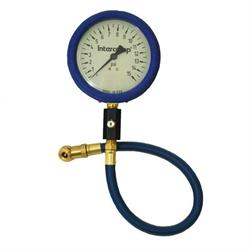 Intercomp 360058 4 Inch Glow-In-The-Dark Tire Pressure Gauge, 15 PSI