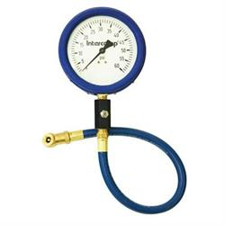 Intercomp 360060 4 Inch Glow-In-The-Dark Tire Pressure Gauge, 60 PSI