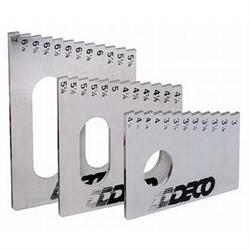 DECO Frame Height Steel Gauge Tool, Set of 3