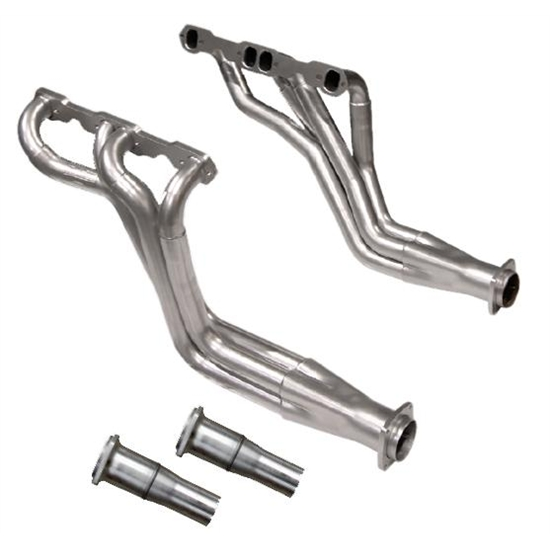 Dynatech® Long Tube Headers, 1.625 - 1.75, 2-1/2 Reducer, Ceramic Coat