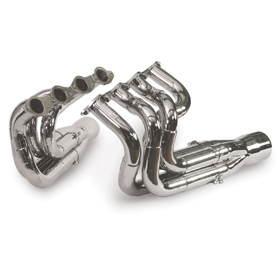 Dynatech® Big Block Chevy Three Step Dragster Headers, 2-1/8, 2-1/4, 2-3/8, Merge