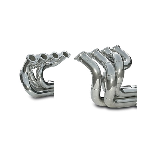 Dynatech® Big Block Chevy Strut Type Dragster Headers, Coated, 2-1/4 In