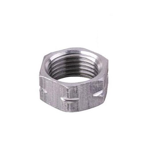 Heavy Duty Aluminum Jam Nut, 7/16-20 LH