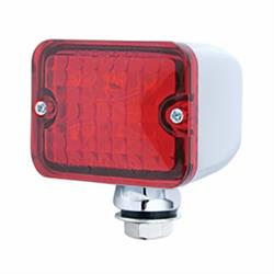 United Pacific 39193 Medium Rod Light, 6 Red LED/Red Lens