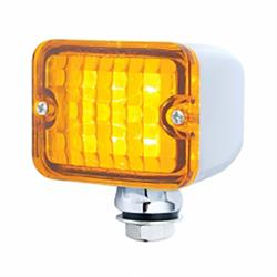 United Pacific 39192 Medium Rod Light, 6 Amber LED/Amber Lens