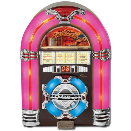 Crosley CR1101A-CH Tabletop Jukebox