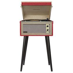 Crosley CR6233A-RE Bermuda Turntable, Red