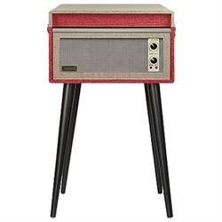 Crosley CR6233D-RE Bermuda Turntable, Red