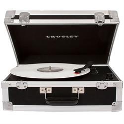 Crosley CR6251A-BK Bound Portable Turntable, Black