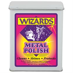 Wizards Products 11011 Metal Polish, 3 oz