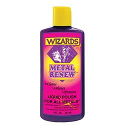 Wizards Products 11020 Metal Renew Liquid Polish, 8 oz