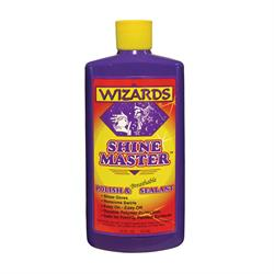 Wizards Products 11033 Shine Master Polish & Sealant, 16 oz