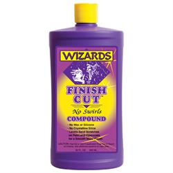 Wizards Products 11040 Finish Cut No Swirls Compound, 32 oz