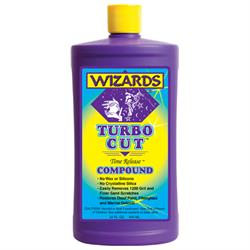 Wizards Products 11044 Turbo Cut Time Release Compound, 32 oz