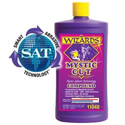 Wizards Products 11048 Mystic Cut Smart Abrasive Coumpound, 32 oz