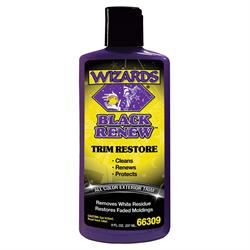 Wizards Products 66309 Black Renew Exterior Treatment, 8 oz