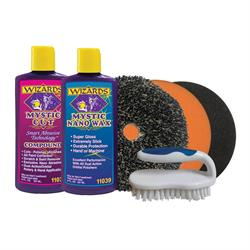 Wizards Products 99121 Scratch & Swirl Removal Kit, 6 Piece