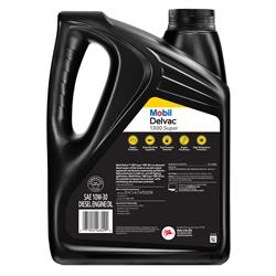 Mobil Delvac 1300 Super HD Syn Blend Diesel Oil 10W-30, 1 Gal