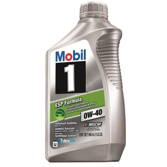 mobil1 1238751 esp formula engine oil 0w 40 1 quart. Black Bedroom Furniture Sets. Home Design Ideas