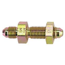 Steel AN4 Straight Bulkhead Adapter