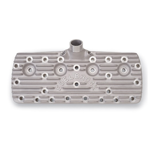 Edelbrock 11261 1939-48 Ford Flathead Cylinder Heads, Polished