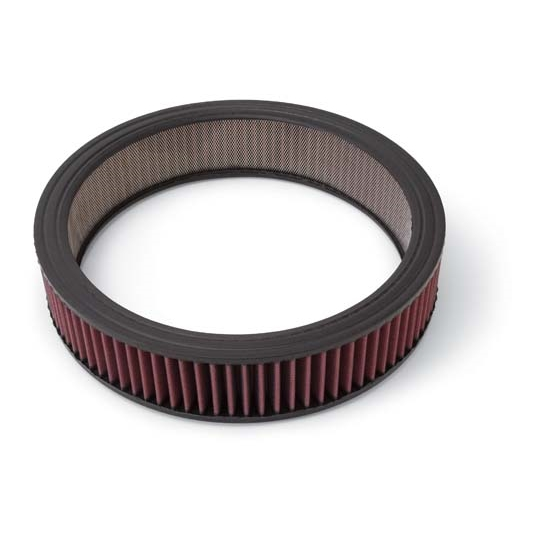 Edelbrock 1216 Air Cleaner Element Air Filter, Round, 3in. X 14in.