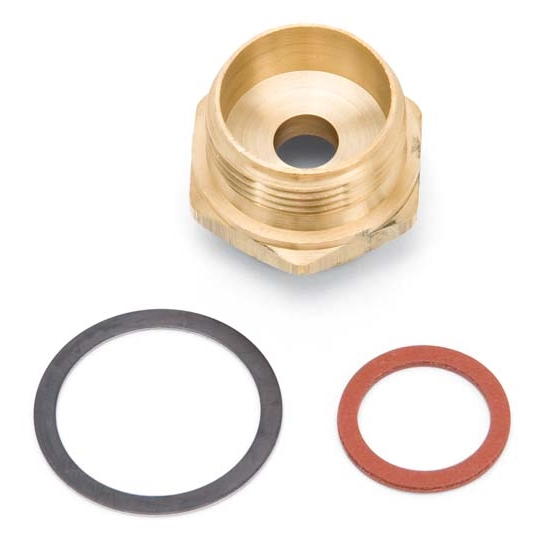 Edelbrock 12415 HDQ Fuel Inlet Fitting, Brass