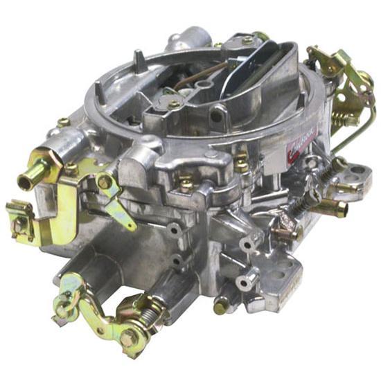 edelbrock 1404 performer 500 cfm 4 barrel carburetor manual choke rh ebay com carburetor manual choke mechanism carburetor manual or electric choke
