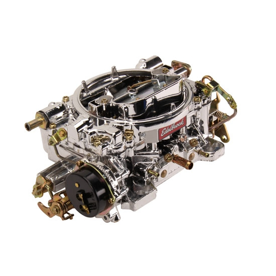 Edelbrock 14064 Endurashine Performer 600 CFM 4 BBL Carb, Electric