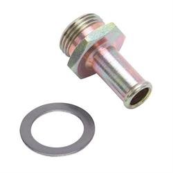 Edelbrock 1497 Performer Series Carburetor Inlet Fittings , Steel