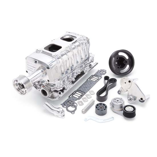 Edelbrock 15131 E-Force Enforcer Supercharger System, SB Chevy, Kit