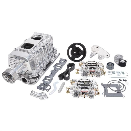Edelbrock 15161 E-Force Enforcer Supercharger System, SB Chevy, Kit