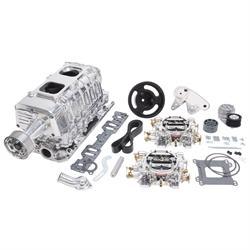 Edelbrock 15161 E-Force Enforcer Supercharger System, SB Chevy, Kit