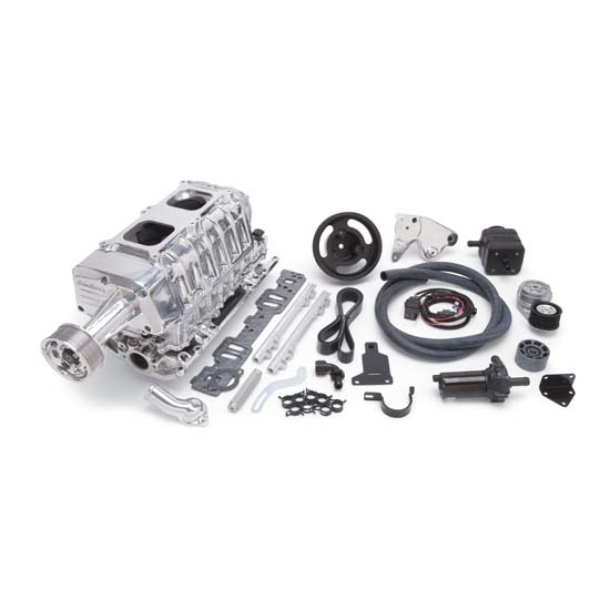 Edelbrock 15221 E-Force EFI Supercharger System, Small Block Chevy