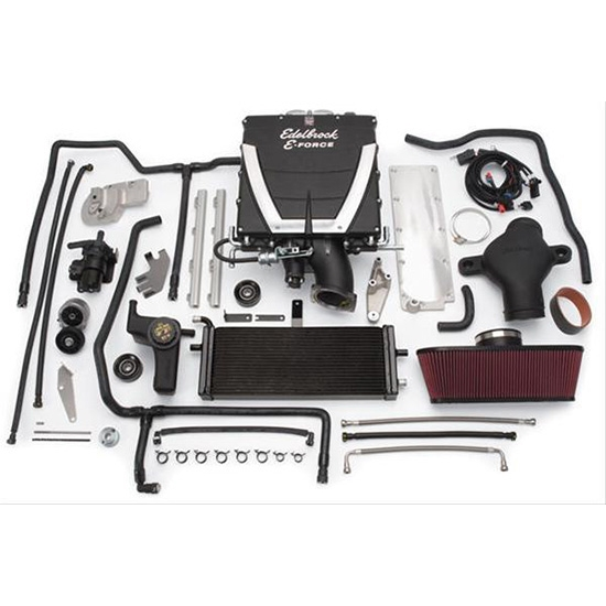 Edelbrock 1533 E-Force Stage 3 Chrysler Supercharger System Kit, 5.7L
