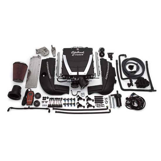 Edelbrock 1540 E-Force Street Legal Kit Supercharger System
