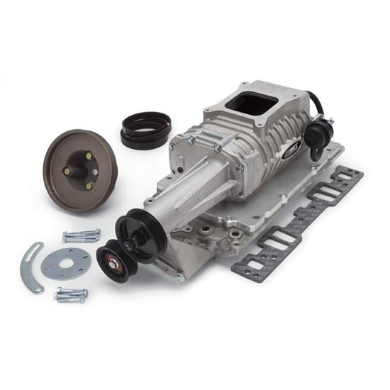 Edelbrock 1552 E-Force 122 Chevy Supercharger Kit, 1996-Later SBC