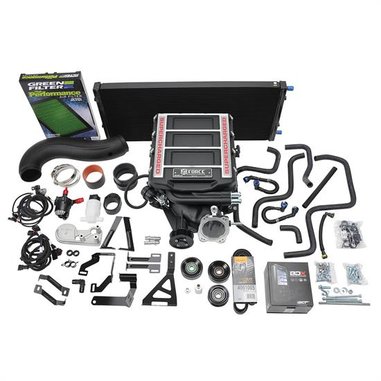 Edelbrock 15663 E-Force Supercharger Kit, 2014-18 GM Truck, 5.3L