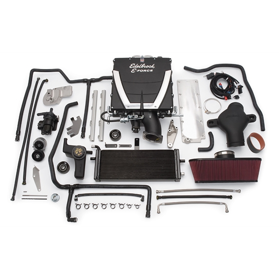 Edelbrock 1573 E-Force Competition Chevy Supercharger System Kit, 7.0L