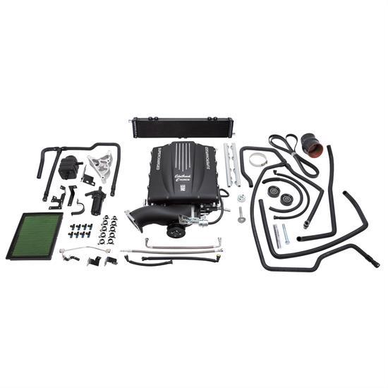 Edelbrock 15770 E-Force Street Legal Kit Supercharger System, GM