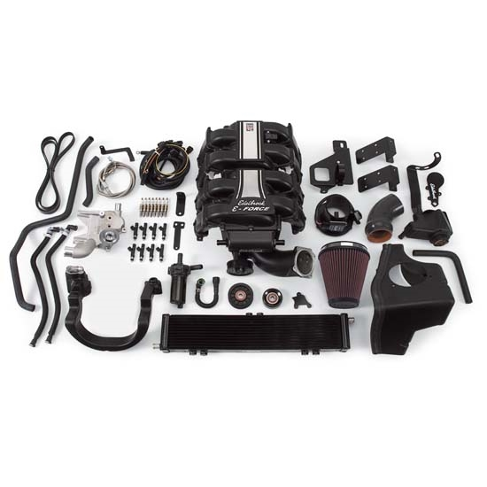 Edelbrock 15810 E-Force Supercharger Street Legal Kit, Ford 5.4L