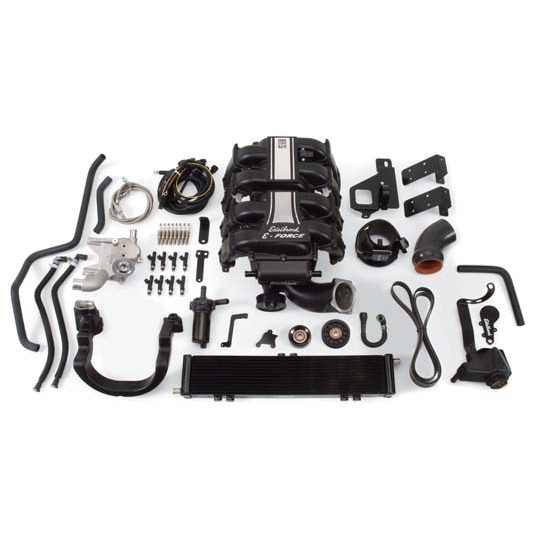 Edelbrock 15830 E-Force Supercharger Street Legal Kit, Ford 5.4L