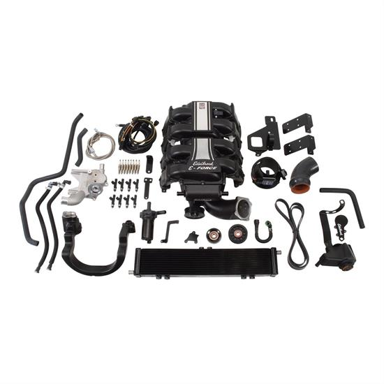 Edelbrock 15830 E-Force Supercharger Street Legal Kit, Ford 5 4L
